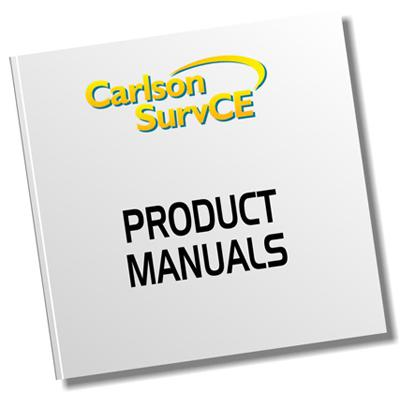carlson product manual - survcon