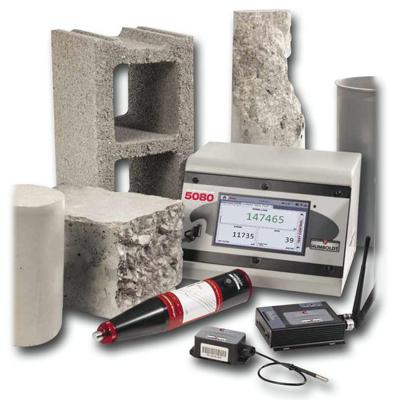 concrete testing equipment - survcon